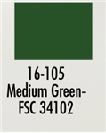 Badger 16105 Modelflex Paint Military Colors 1oz Medium Green