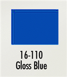 Badger 16110 Modelflex Paint Gloss Colors 1oz Blue