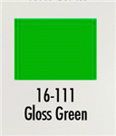Badger 16111 Modelflex Paint Gloss Colors 1oz Green