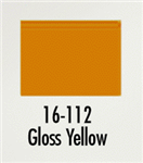 Badger 16112 Modelflex Paint Gloss Colors 1oz Yellow