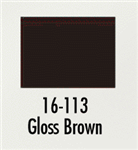 Badger 16113 Modelflex Paint Gloss Colors 1oz Brown