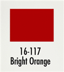Badger 16117 Modelflex Paint Gloss Colors 1oz Bright Orange