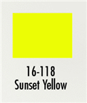 Badger 16118 Modelflex Paint Gloss Colors 1oz Sunset Yellow