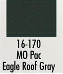 Badger 16170 Modelflex Paint 1oz Missouri Pacific Eagle Roof Gray