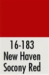 Badger 16183 Modelflex Paint 1oz New Haven Socony Red