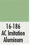 Badger 16186 Modelflex Paint 1oz Atlantic Coast Line Imitation Aluminum