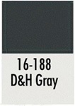Badger 16188 Modelflex Paint 1oz Delaware & Hudson Gray