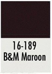 Badger 16189 Modelflex Paint 1oz Boston & Maine Maroon