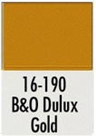 Badger 16190 Modelflex Paint 1oz Baltimore & Ohio Dulux Gold
