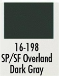 Badger 16198 Modelflex Paint 1oz Southern Pacific / Santa Fe Overland Dark Gray