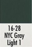 Badger 1628 Modelflex Paint 1oz New York Central Light Gray