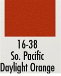 Badger 1638 Modelflex Paint 1oz Southern Pacific Daylight Orange