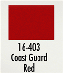 Badger 16403 Modelflex Paint Marine Colors 1oz Coast Guard Red