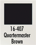 Badger 16407 Modelflex Paint Marine Colors 1oz Quartermaster Brown