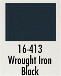 Badger 16413 Modelflex Paint Marine Colors 1oz Wrought Iron Black