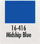 Badger 16416 Modelflex Paint Marine Colors 1oz Midship Blue