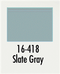 Badger 16418 Modelflex Paint Marine Colors 1oz Slate Gray