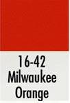 Badger 1642 Modelflex Paint 1oz Milwaukee Road Orange