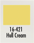 Badger 16421 Modelflex Paint Marine Colors 1oz Hull Cream