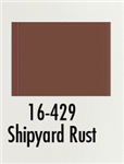 Badger 16429 Modelflex Paint Marine Colors 1oz Shipyard Rust