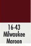 Badger 1643 Modelflex Paint 1oz Milwaukee Road Maroon