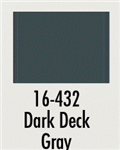 Badger 16432 Modelflex Paint Marine Colors 1oz Dark Deck Gray
