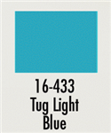 Badger 16433 Modelflex Paint Marine Colors 1oz Tug Light Blue