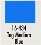 Badger 16434 Modelflex Paint Marine Colors 1oz Tug Medium Blue