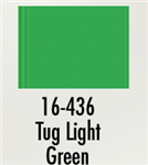 Badger 16436 Modelflex Paint Marine Colors 1oz Tug Light Green