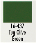Badger 16437 Modelflex Paint Marine Colors 1oz Tug Olive Green