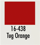 Badger 16438 Modelflex Paint Marine Colors 1oz Tug Orange