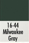Badger 1644 Modelflex Paint 1oz Milwaukee Road Gray