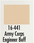 Badger 16441 Modelflex Paint Marine Colors 1oz 29.6mL Army Corps Engineer Buff 165-16441