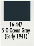 Badger 16447 Modelflex Paint Marine Colors 1oz 5-O Ocean Gray Early 1941