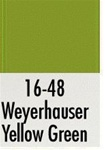 Badger 1648 Modelflex Paint 1oz Weyerhaeuser Yellow-Green