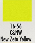 Badger 1656 Modelflex Paint 1oz Chicago & North Western Zeto Yellow