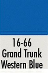 Badger 1666 Modelflex Paint 1oz Grand Trunk Western Blue