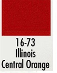 Badger 1673 Modelflex Paint 1oz Illinois Central Orange