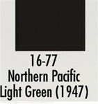 Badger 1677 Modelflex Paint 1oz Northern Pacific Light Green