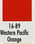 Badger 1689 Modelflex Paint 1oz Western Pacific Orange