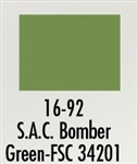 Badger 1692 Modelflex Paint Military Colors 1 Ounce SAC Bomber Green 165-1692