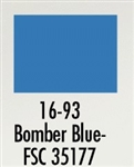 Badger 1693 Modelflex Paint Military Colors 1oz Bomber Blue