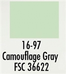 Badger 1697 Modelflex Paint Military Colors 1oz Camouflage Gray