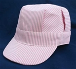 Brooklyn Peddler 3 Toddler Engineer Cap Pink