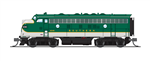 Broadway Limited 3808 N EMD F7A Unpowered F7B Phase I Set Sound/DCC Paragon3 Southern Railway 4248 4414