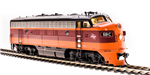 Broadway Limited 4856 HO EMD F7A Phase I w/DC/DCC & Paragon3 Sound Milwaukee Road #68D