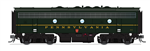 Broadway Limited 4861 HO EMD F7B Phase I w/DC/DCC & Paragon3 Sound Pennsylvania #9673B
