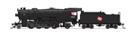 Broadway Limited 5956 N USRA 2-8-2 Heavy Mikado Sound and DCC Paragon3 Milwaukee Road 308