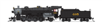 Broadway Limited 5982 N USRA 2-8-2 Light Mikado Sound and DCC Paragon3 Seaboard Air Line 495