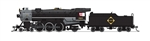Broadway Limited 6220 N USRA 4-6-2 Heavy Pacific Sound and DCC Paragon3 Erie 2919